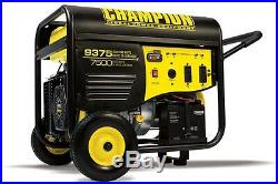100219 7500/9375w Champion Power Equipment Generator, electric start