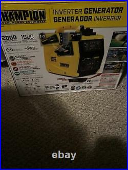 100306- 1600/2000w Champion Power Equipment Inverter Brand New
