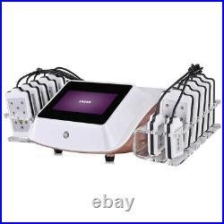 14 laser paddles portable lipo massage beauty machine body shaping equipment