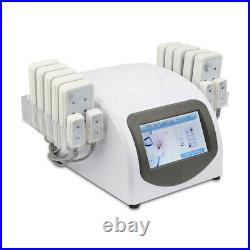 14 laser pads body cellulite removal diode laser 650nm lipo slimming equipment