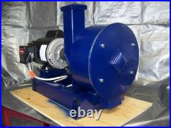 16 Portable Rock Crusher/pulverizer, 2 HP Elec Motor Chain Hammers Gold Mining