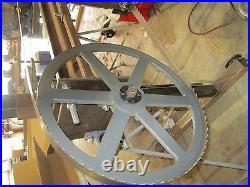 18-3/4 Band Sawmill Wheels Portable Band Sawmill Bandmill Lumber Wood