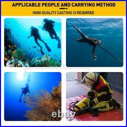 1L Scuba Tank Diving Cylinder Oxygen Reserve Portable Air Equipment Underwater