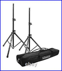 (2) On-Stage Stands SSP7950 All-Aluminum Speaker Stand Pack with Bag