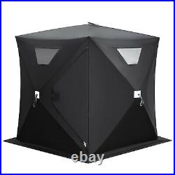 2-person Ice Fishing Shelter Tent Portable Pop Up House Outdoor Fish Equipment
