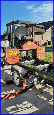 2008 Timber King Portable band sawmill new tires bearings led ready to travel