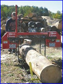 2020 HFE 30 Portable Sawmill Portable Bandmill Band mill lumber
