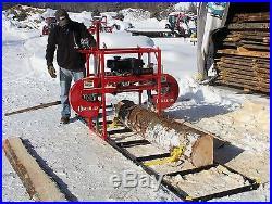 2020 Hud-Son Forest Portable Sawmill Oscar 428 Bandmill