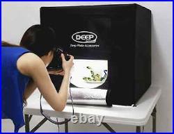 40cm LED Portable Photo Studio Photography Light Box Kits Background Equipment