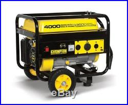 46597 3500/4000w Champion Power Equipment Generator with Wheel Kit
