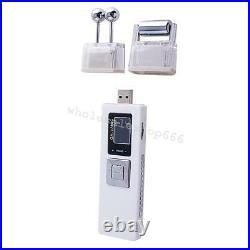 5 Portable Wireless Galvanic Roller Beauty Facial Skin Care Spa Salon Equipment
