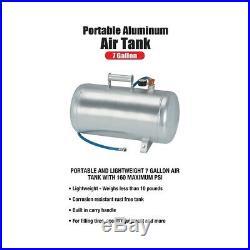 7 Gallon Portable Aluminum Air Tank Auto Truck SUV Tire Sport Equip Emergency