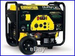 76533 CHAMPION POWER EQUIPMENT RV Ready Portable Generator Dual Fuel Powered