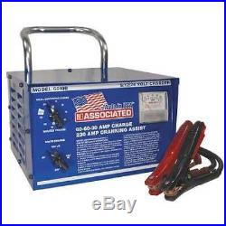 ASSOCIATED EQUIP 6010B Battery Charger, Manual Boosting, Charging For Battery