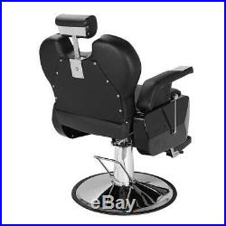 Antique Hydraulic Barber Chair Stand Floor Portable Salon Spa Shampoo Equipment
