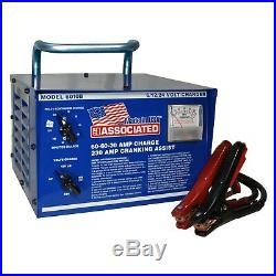 Associated Equipment 6V/12V/24V Portable Battery Charger