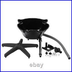 Backwash Barber Shampoo Bowl Sink Basin Unit Station Spa Salon Beauty Equipment