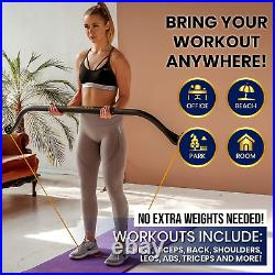 Ballista Bow Workout Bow Portable Home Gym Resistance Bands Fitness Equipment
