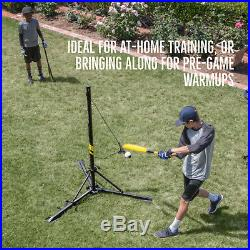 Baseball Swing Trainer Batting System Hit A Way Portable Coaching Equipment Play