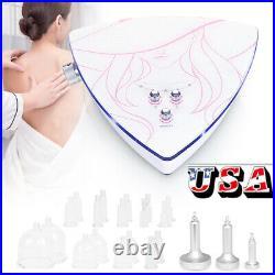 Breast Butt Enlargement Vacuum Lymph Detox Breast Lifting Beauty Spa Equipment