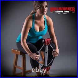 Bullworker 20 Steel Bow Full Body Workout Portable Home Exercise Equipment