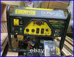 CHAMPION POWER EQUIPMENT 100297 Portable Generator 10,000/8000W Dual Fuel