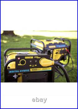 CHAMPION POWER EQUIPMENT 100302 Portable Generator 3500W Digital Hybrid