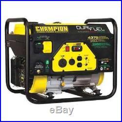 CHAMPION POWER EQUIPMENT 100307 3500W Dual Fuel Portable Generator 120VAC Recoil