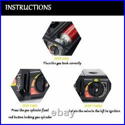 Camping Stove Outdoor Portable Gas Stove Camping Hiking Picnic Set Equipment For