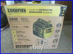 Champion 200950 Gasoline Power Equipment Inverter 1850/2500W