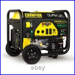 Champion Power Equipment 10,000/8,000-Watt Dual Fuel Portable Generator
