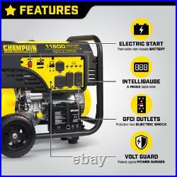 Champion Power Equipment-100110C 9200-Watt Portable Generator with Electric S