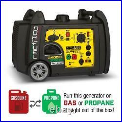 Champion Power Equipment-100263C Champion 3400-Watt Dual Fuel RV Ready Portab