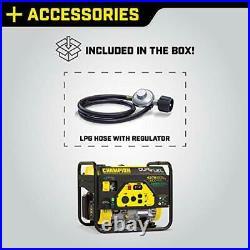Champion Power Equipment 100307 4375/3500-Watt Dual Fuel RV Ready Portable