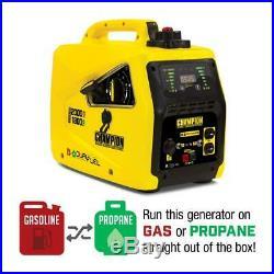 Champion Power Equipment-100402C Champion 2000-Watt Dual Fuel Portable