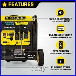 Champion Power Equipment-100520 Champion 8750-Watt Open Frame Inverter Generator
