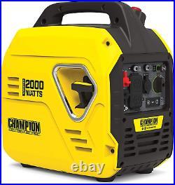 Champion Power Equipment 100692 2000-Watt Portable Inverter Generator, Ultraligh