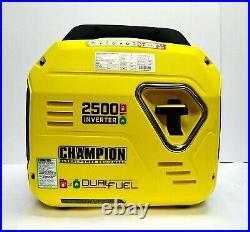 Champion Power Equipment 100899 2500-Watt Dual Fuel Portable Inverter Generator