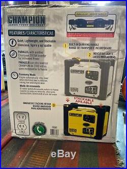 Champion Power Equipment 2000/1700 Watt Portable Inverter Generator 73536i