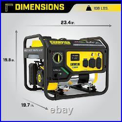 Champion Power Equipment 200965 4375/3500-Watt Dual Fuel Portable Generator, RV