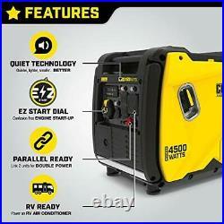Champion Power Equipment 200986 4500-Watt Portable Inverter RV Ready
