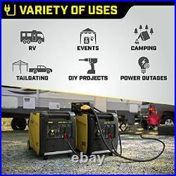 Champion Power Equipment 200988 4500-Watt Dual Fuel RV Ready Electric Start