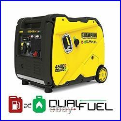 Champion Power Equipment 200988 4500-Watt Dual Fuel RV Ready Portable Inverter
