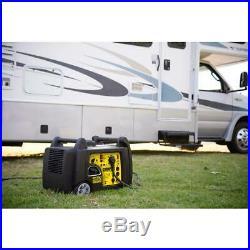 Champion Power Equipment 3100-Watt Gasoline Powered Wireless Remote Electric