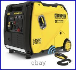 Champion Power Equipment 4500-Watt Portable Inverter Generator