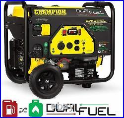 Champion Power Equipment 76533 4750/3800-Watt Dual Fuel RV Portable Generator