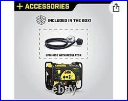 Champion Power Equipment 76533 4750 / 3800-Watt Dual Fuel RV Ready Generator