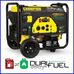 Champion Power Equipment-76533 Champion 3800-Watt Dual Fuel RV Ready Portable