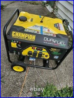 Champion Power Equipment 7850/6250 Watts Remote Start nearly new never used