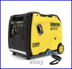 Champion Power Equipment Inverter Generator 4500-Watt Dual Fuel Remote Start